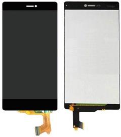 Mobilo tālruņu rezerves daļas Huawei P8 Black LCD Screen