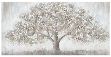 Home4you Oil Painting 70x140cm Strong Tree