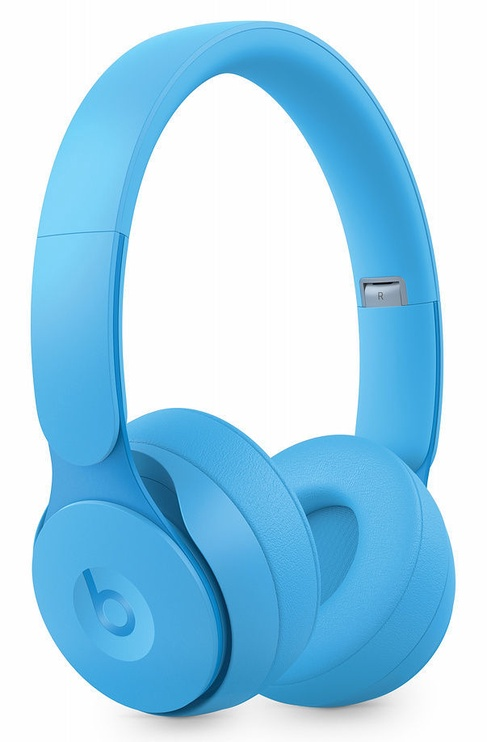 Ausinės Beats Solo Pro More Matte Collection Light Blue, belaidės