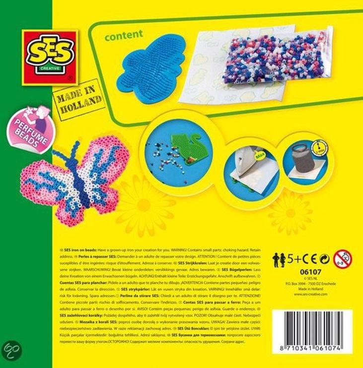 Mozaika SES Creative Beedz Iron On Beads Butterfly 06107
