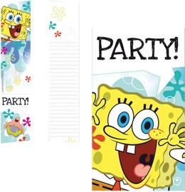Amscan Sponge Bob Invitations & Envelopes 997781