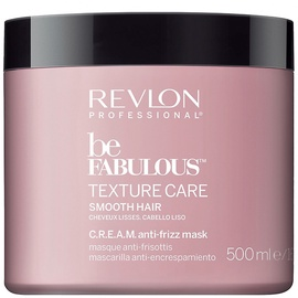 Kaukė plaukams Revlon Be Fabulous Smooth Mask, 500 ml