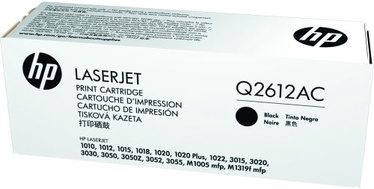 HP Toner Q2612AC Black