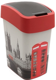Curver Deco Flip Bin 25l London