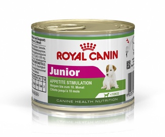 Koerakonserv Royal Canin Mini Junior, 195 g