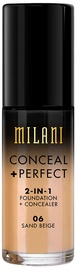 Milani Conceal + Perfect 2in1 Foundation + Concealer 30ml 06