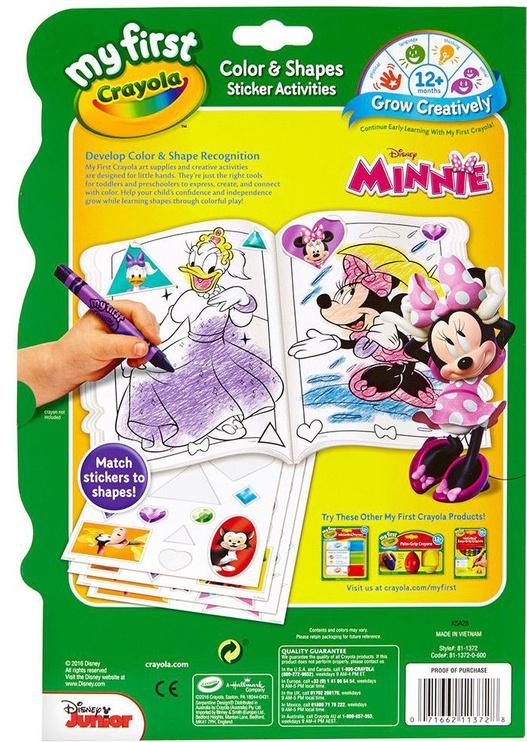 Crayola Color & Shapes Sticker Activities Minnie