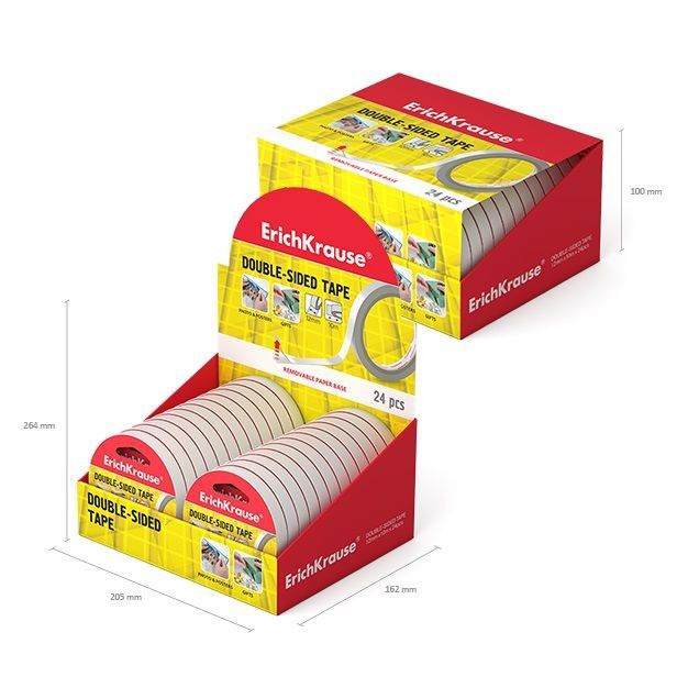 ErichKrause Double Sided Tape 24pcs