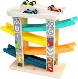 Automašīnu trase Brimarex Wooden Ramp Racer 8144348