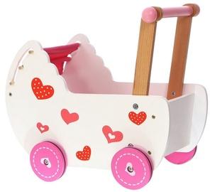 EcoToys Wooden Stroller For Dolls 2150