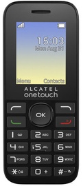 Alcatel Onetouch 1016G Volcano Black ENG