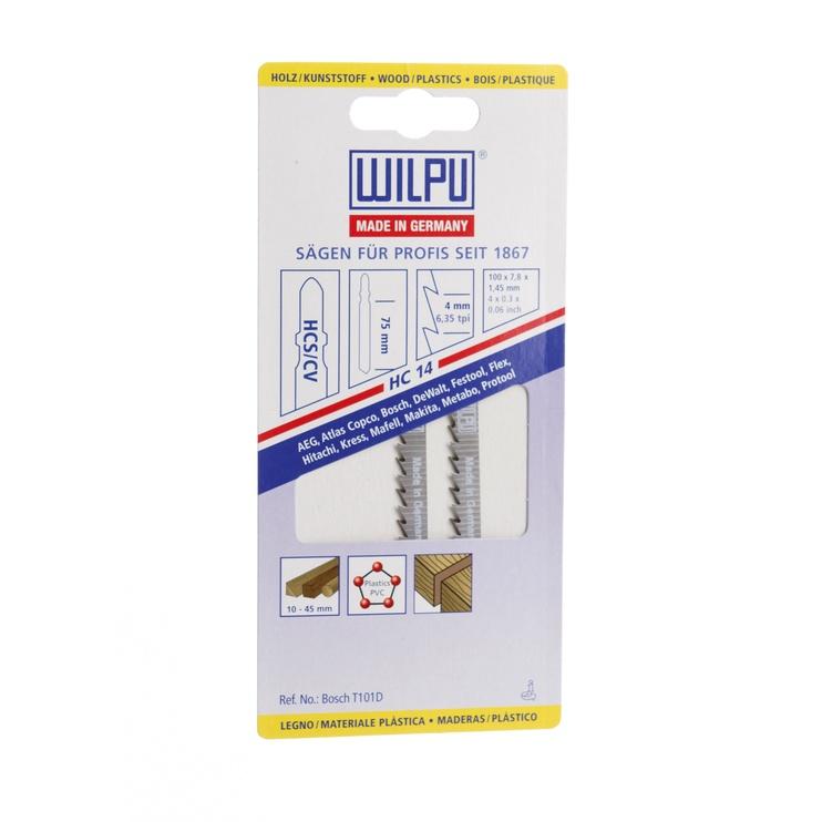 Saagide komplekt Wilpu Jigsaw Blade Set HC 14 /02170 2pcs
