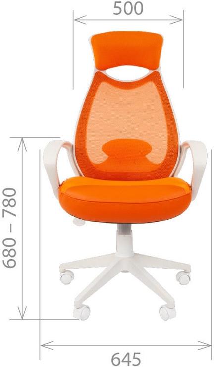 Kontoritool Chairman 840 TW-16, oranž