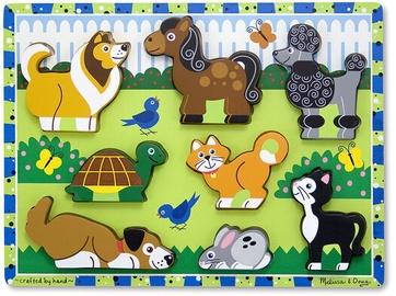 Melissa & Doug Pets Chunky Puzzle 8pcs 3724