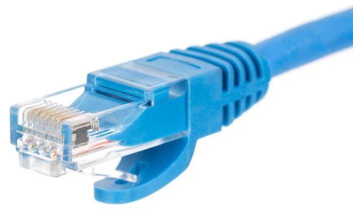 Netrack CAT 5e UTP Patch Cable Blue 0.25m