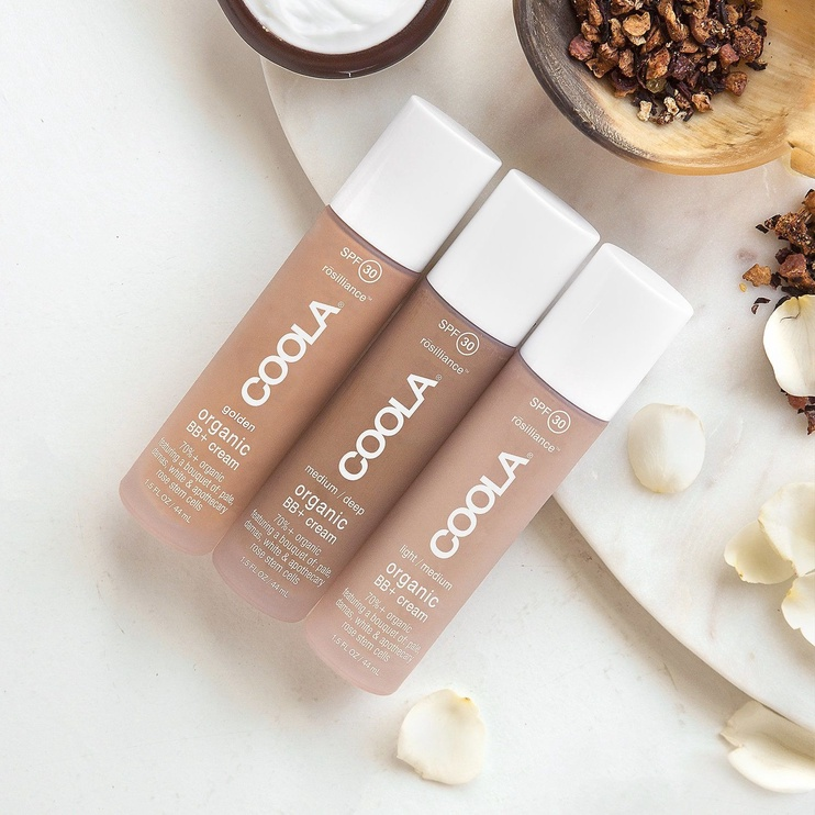 Coola Rosilliance Organic BB+ Cream SPF30 44ml Medium Dark
