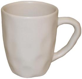 Bradley Organic Ceramic Cup 11cm White 24pcs