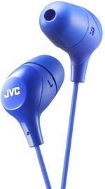 JVC HA-FX38-E In-Ear Earphones Blue