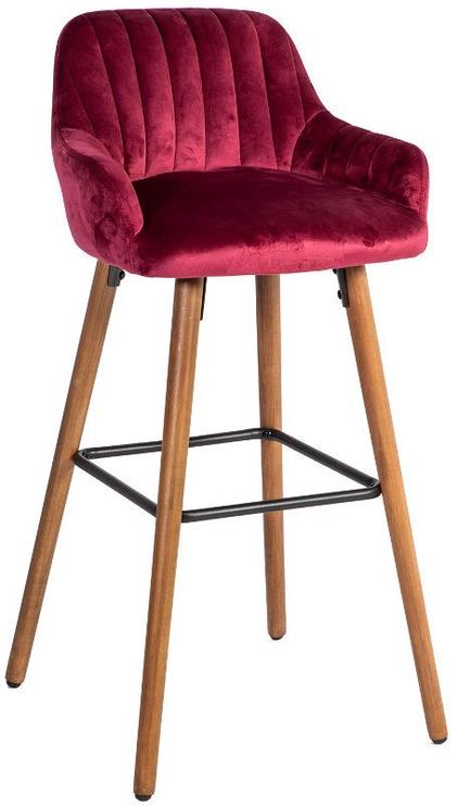 Барный стул Home4you Ariel Wine Red