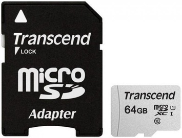 Transcend 300S 64GB microSDXC CL10 UHS-I + Adapter
