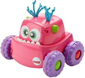 Fisher Price Press 'N Go Monster Truck Pink DRG14