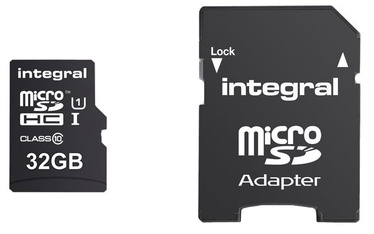 Integral Ultima Pro 32GB Micro SDHC UHS-1 Cl10