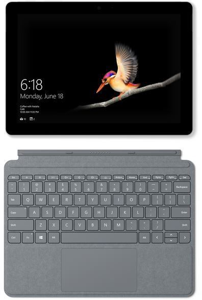 Microsoft Surface Go 64 GB incl. Surface Signature Type Cover Platinum