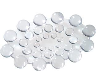 Ziepju trauks Gedy Spot 2004 P2, 12,4x8,7x1,6cm, balts
