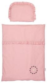 Klups Albero Mio Nature & Love Cradle Bedding Set 4pcs Mini Rose