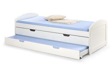 Vaikiška lova Halmar Laguna 2 White, 209x96 cm