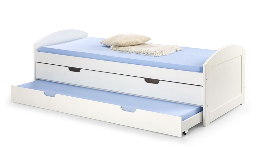 Bērnu gulta Halmar Laguna 2 White, 209x96 cm