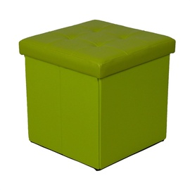Pufs XYF2116B 38x38x37,5cm, zaļš
