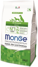 Monge Speciality Line Adult with Rabbit Rice and Potatoes 2.5kg