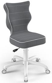 Entelo Childrens Chair Petit Size 4 White/Dark Grey JS33