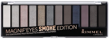 Acu ēnas Rimmel London Magnif'Eyes Eye Contouring Palette Smoke Edition, 14 g