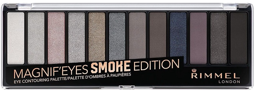 Rimmel London Magnif'Eyes Eye Contouring Palette Smoke Edition 14g