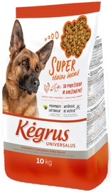 Kegrus Universal Adult Dog Food Poultry & Vegetables 10kg