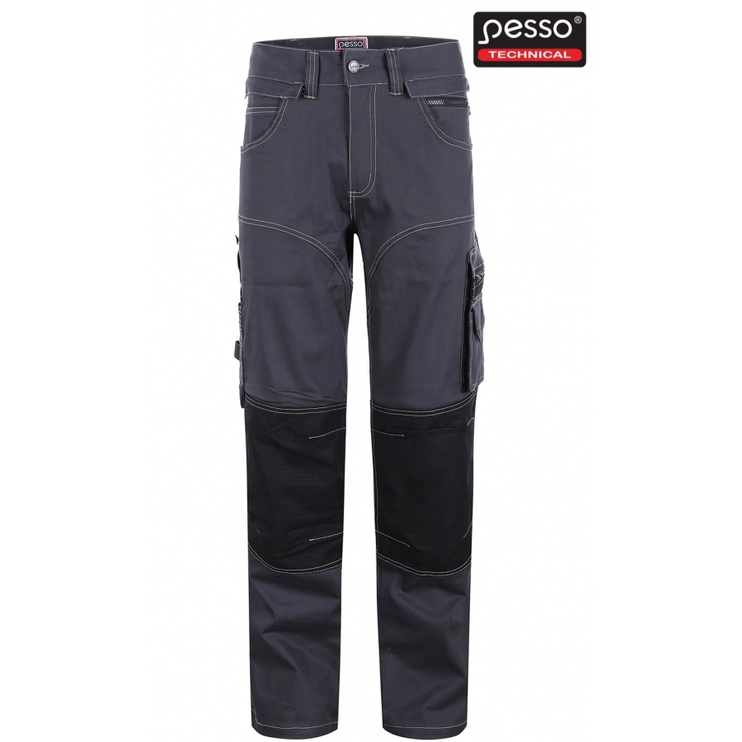 Tööpüksid Pesso Stretch, tumehall, C52
