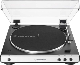 Audio-Technica AT-LP60XBT Fully Automatic Wireless Belt-Drive Turntable White