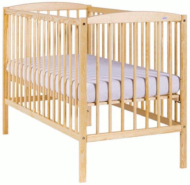 Детская кровать Drewex Kuba Pine, 124x65 см