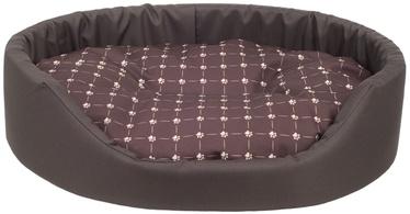 Лежанка Amiplay Fun Dog Oval Bedding M 52x44x14cm Brown