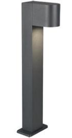Trio Roya antracito spalvos stulpas/šviestuvas 50 cm aukščio, IP44, 1x GU10