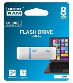 GoodRam UMO2 8GB USB 2.0 White