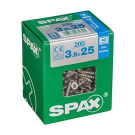 SKRŪVES KOKA A2 3,5X25 TX 200 GAB (SPAX)