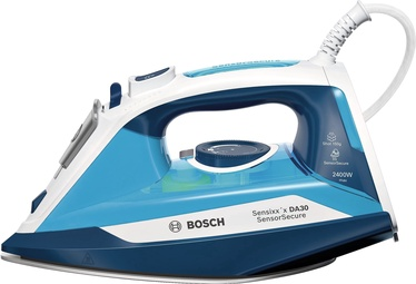 Утюг Bosch TDA3024210, синий/белый