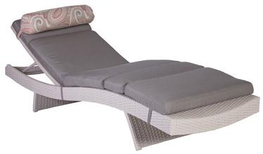Home4You Deck Chair Stella White