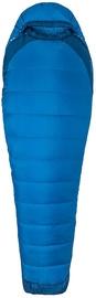 Спальный мешок Marmot Trestles Elite Eco 20 Regular LZ Estate Blue/Classic Blue, левый, 183 см