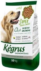Kegrus Economic Adult Dog Food Meat & Vegetables 10kg