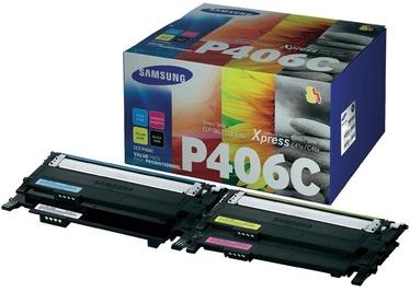 Lazerinio spausdintuvo kasetė Samsung CLT-P406C Rainbow