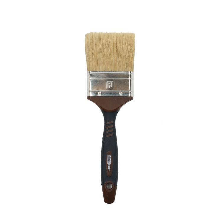 HausHalt Flat Brush RJ3348 Mixed Black/Brown 64mm